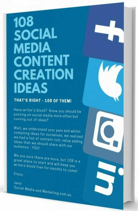 108 social media content creation ideas