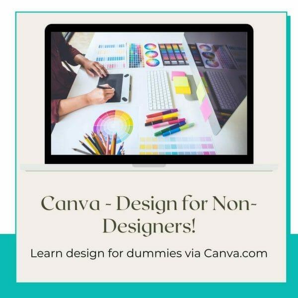 Canva design for dummies workshop